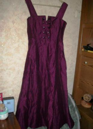 Шикарное платье\сарафан льняное
