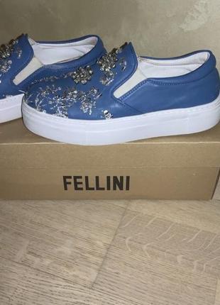 Женские туфли/слипоны fellini 36 размер