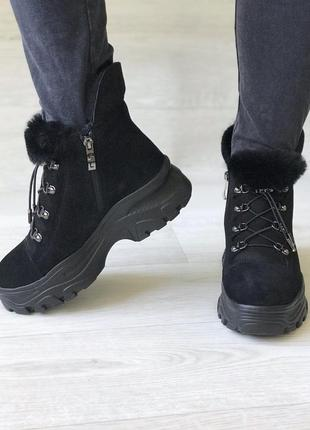 Удобные тёплые зимние ботинки, foletti2 фото