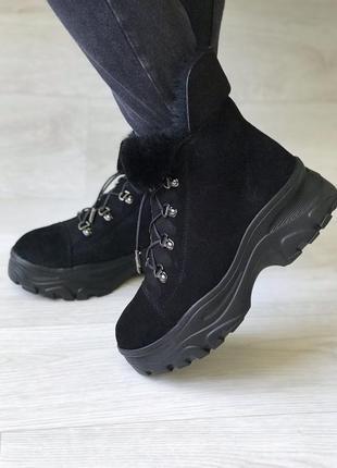 Удобные тёплые зимние ботинки, foletti3 фото