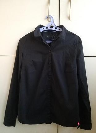 Стильная черная рубашка edc