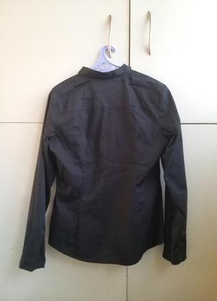 Стильная черная рубашка edc4 фото