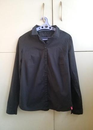 Стильная черная рубашка edc5 фото