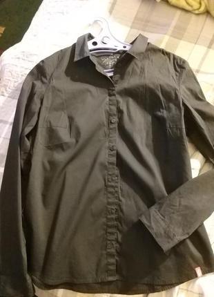 Стильная черная рубашка edc8 фото