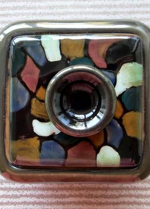 Шкатулка керамичеккая