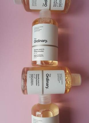 Glycolic acid 7 toning solution тоник the ordinary
