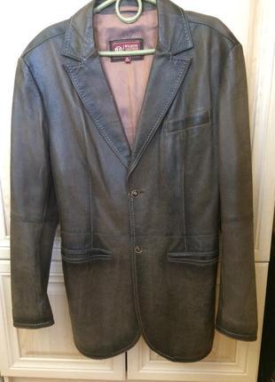 Шкіряна куртка xl