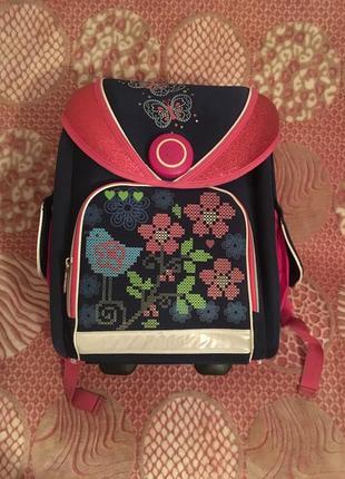 Портфель шкільний для дівчаток