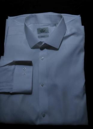 Рубашка мужская классическая белая next