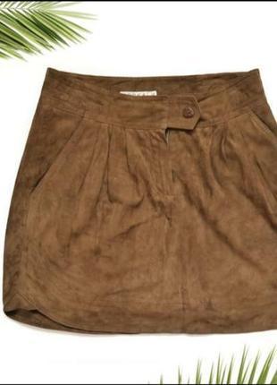 Замшевая юбка kokai2 фото