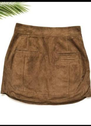 Замшевая юбка kokai3 фото