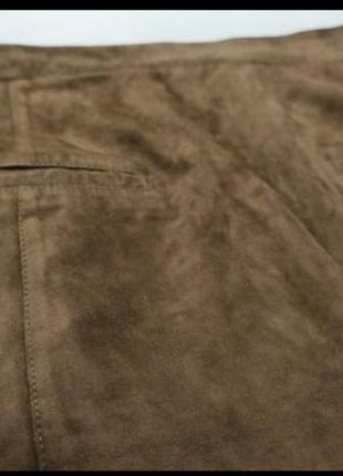 Замшевая юбка kokai6 фото