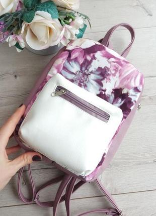 Рюкзак цветочный принт в ассортименте