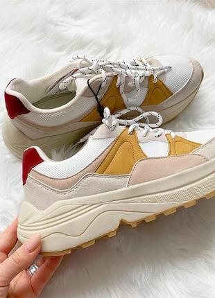 Новые! классные кроссовки в пастельных тонах1 фото