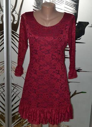 Платье кружево франция