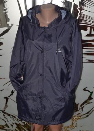 Водоотталкивающая ветровка куртка