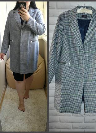 Красивое качественное коллекционное пальто от m&s, р. 20. 30% шерсти.