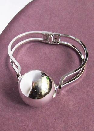 Стильный модный браслет с шаром, новый! арт. 3238