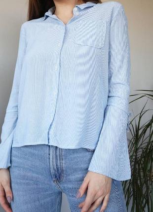 Милая блуза в полоску