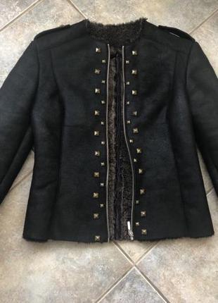 Шикарная натуральная дубленка / куртка