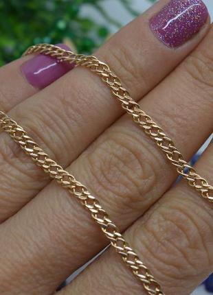Золотой #браслет #на руку #панцирный #панцир #унисекс #585 20,5размер
