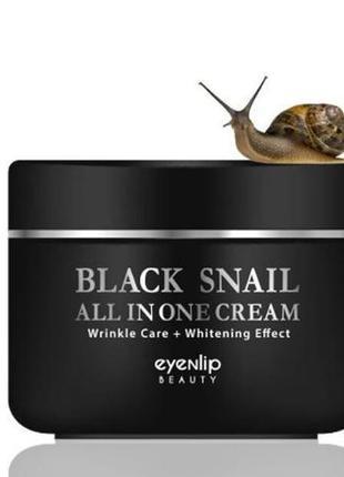Eyenlip black snail all in one cream крем для лица с эстрактом черной улитки