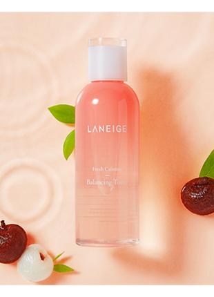Laneige fresh calming toner тонер для чувствительной кожи