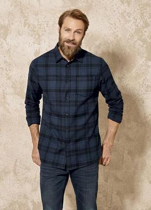 Рубашка мужская фланелевая