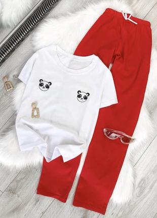 Милая пижама с пандами