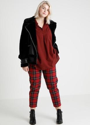 Шикарная стильная блуза! размер 20-22