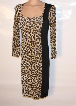 Платье just cavalli leopard  оригинал