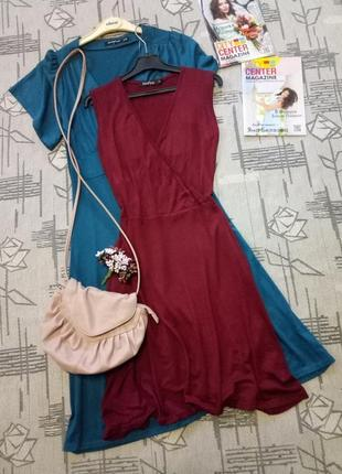 Легкое вискозное платье, размер s-m