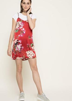 Платье в бельевом стиле missguided