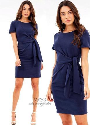 Облегающее платье темно-синего цвета dorothy perkins