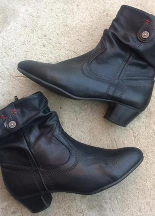 Осенние ботинки женские s.oliver размер 38