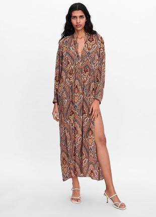 Супер модное платье zara
