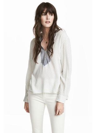 Шикарная блуза вышиванка от h&m