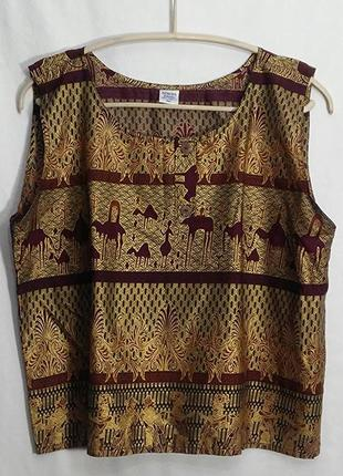 Seroja, костюм блуза юбка на запах хлопок, hand made in bali