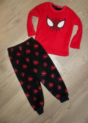 Теплая пижама на 2-3годика