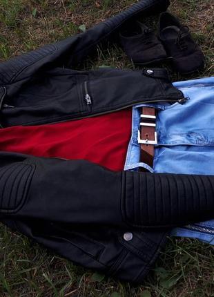 Куртка soul river. эко кожа
