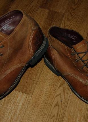Кожаные ботинки 42,5-43 р timberland оригинал хорошее состояние