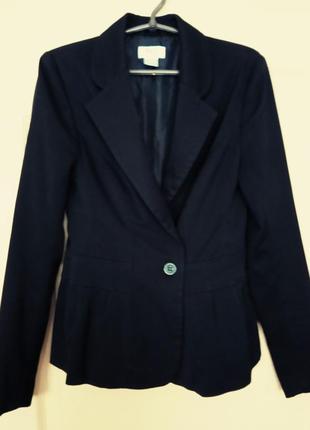 Черный базовый пиджак