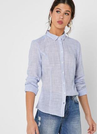 Фактурная рубашка, хлопок mango eur xs