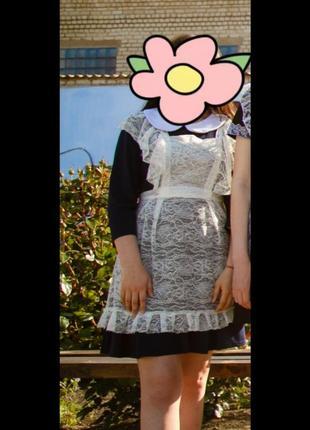 Фартук . школьная форма   . выпускное платье .