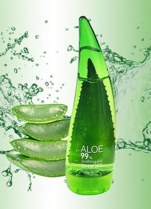 Гель алоэ holika holika aloe soothing gel 99% туба 250 мл.корейская косметика🌿.