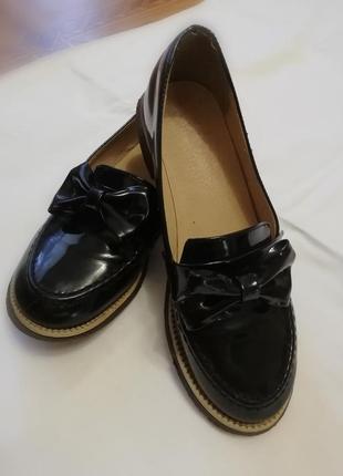 Туфли лоферы  36р.
