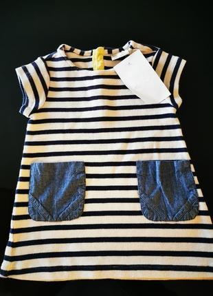 Платье для девочки 9-12 мес