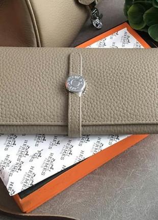 Кожанный стильный удобный кошелёк