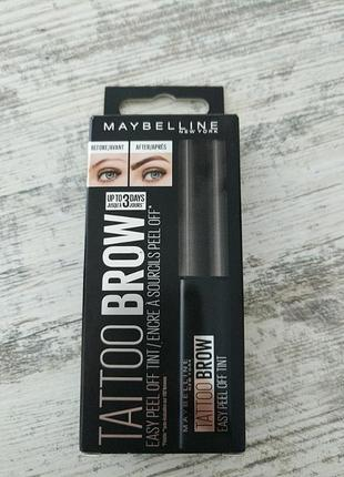 Олівець для брів maybelline brow tatto