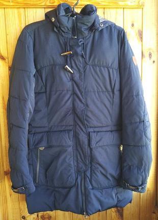 Очень теплая зимняя куртка лёгкое полупальто northland professional